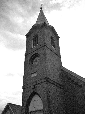 Christ Lutheran Church Black  White